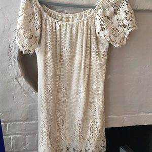 Jens Pirate Booty cream colored lace dress